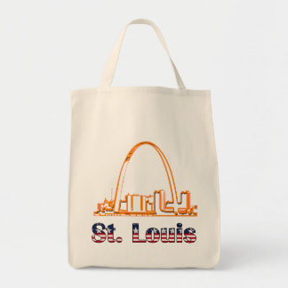 Saint Louis Arch Tote Bag