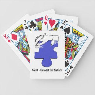 Saint Louis Art For Autism Flair Poker Deck
