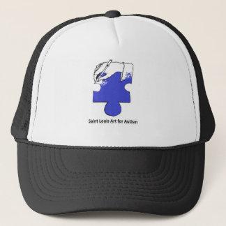 Saint Louis Art For Autism Flair Trucker Hat