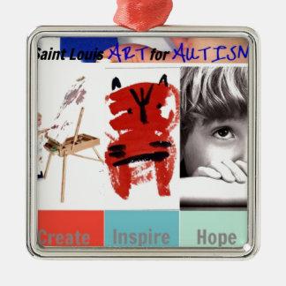 Saint Louis Art for Autism Ornaments