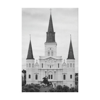 Saint Louis Cathedral Canvas Print