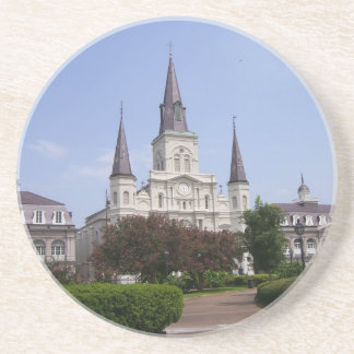 Saint Louis Cathedral Drink Coaster