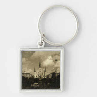 Saint Louis Cathedral New Orleans Louisiana Keychain