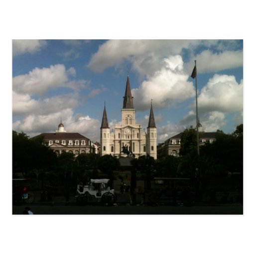 Saint Louis Cathedral New Orleans Louisiana Postcard