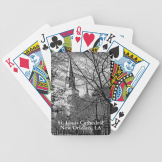 """""""Saint Louis Cathedral"""" PLAYING CARDS"""