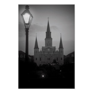 Saint Louis Cathedral Poster