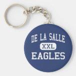 Saint Louis del centro de De La Salle Eagles Llaveros Personalizados