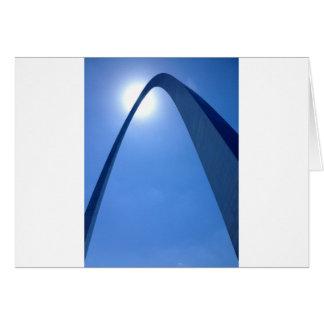 Saint Louis Gateway Arch Greeting Card
