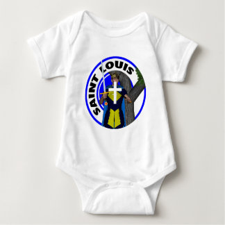 Saint Louis IX Baby Bodysuit