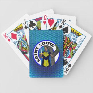 Saint Louis IX Bicycle Card Decks