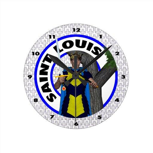 Saint Louis IX Reloj De Pared