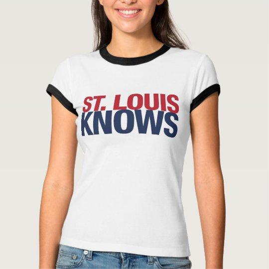 Saint Louis Knows T-Shirt