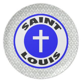 Saint Louis Melamine Plate