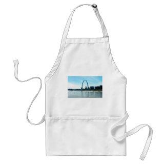 Saint Louis Missouri Arch Adult Apron