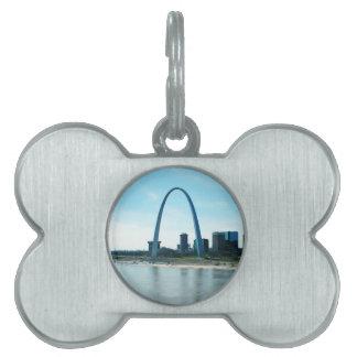 Saint Louis Missouri Arch Pet Tag