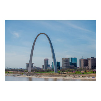 Saint Louis, Missouri arch Poster