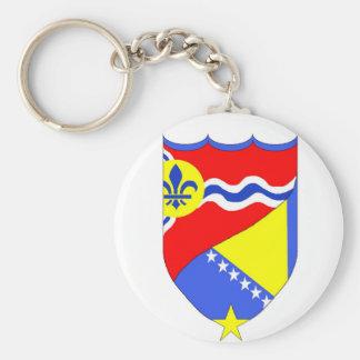 Saint Louis Missouri & Brcko Bosnia keychain