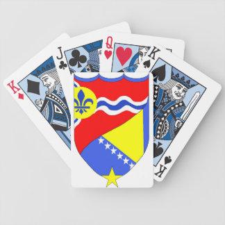 Saint Louis Missouri & Brcko Bosnia playing cards
