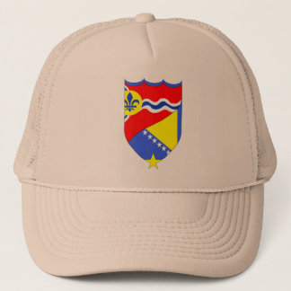 Saint Louis Missouri & Brcko Bosnia trucker hat