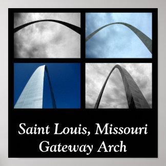Saint Louis, Missouri Gateway Arch Poster