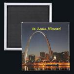 """Saint Louis Missouri magnet<br><div class=""""desc"""">Saint Louis magnets</div>"""