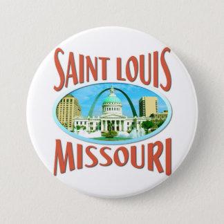 Saint Louis Missouri Pinback Button