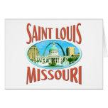 Saint Louis Missouri Tarjeton