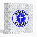 Saint Louis Vinyl Binders