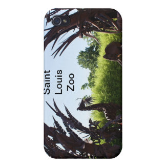 Saint Louis Zoo Sculpture Cover For iPhone 4