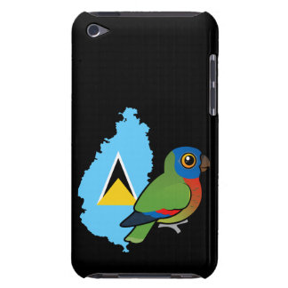 Saint Lucia Amazon Flag Barely There iPod Case