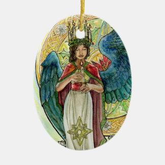Saint Lucia Angel Ornament