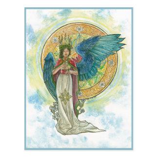 Saint Lucia Angel Post Card