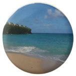 Saint Lucia Beach Tropical Vacation Landscape Chocolate Dipped Oreo