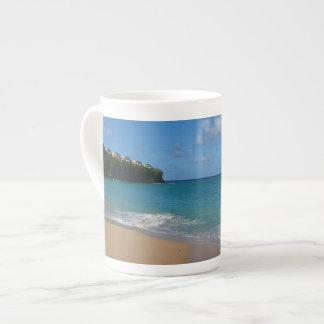 Saint Lucia Beach Tropical Vacation Landscape Tea Cup
