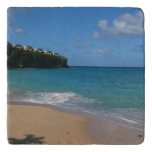 Saint Lucia Beach Tropical Vacation Landscape Trivet