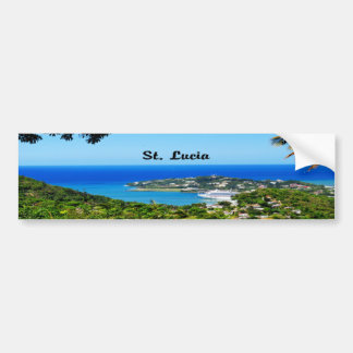 Saint Lucia Bumper Sticker