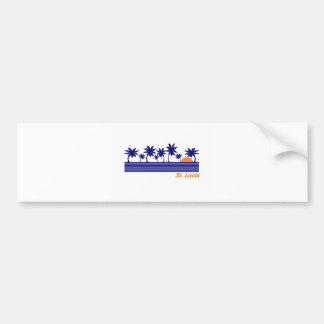 Saint Lucia Bumper Stickers