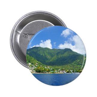 Saint Lucia Button