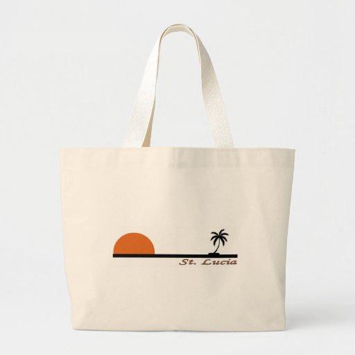 Saint Lucia Canvas Bags