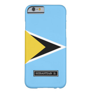 Saint Lucia Flag Barely There iPhone 6 Case