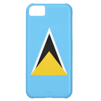 Saint Lucia Flag Cover For iPhone 5C