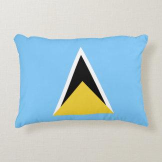 Saint Lucia Flag Decorative Pillow