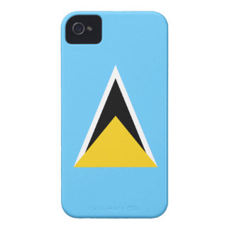 Saint Lucia Flag iPhone 4 Case-Mate Case