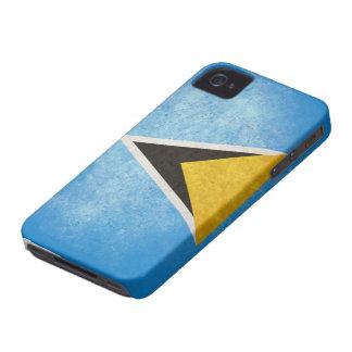 Saint Lucia Flag iPhone 4 Cover