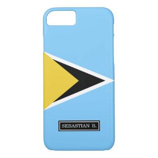 Saint Lucia Flag iPhone 8/7 Case