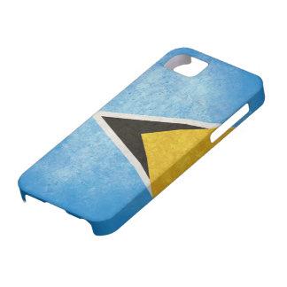 Saint Lucia Flag iPhone SE/5/5s Case