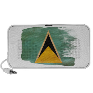 Saint Lucia Flag Mini Speaker
