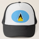Saint Lucia Gnarly Flag Hat
