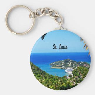 Saint Lucia Keychain