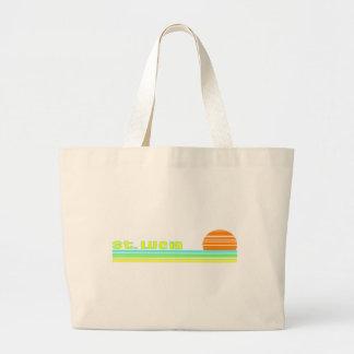 Saint Lucia Large Tote Bag